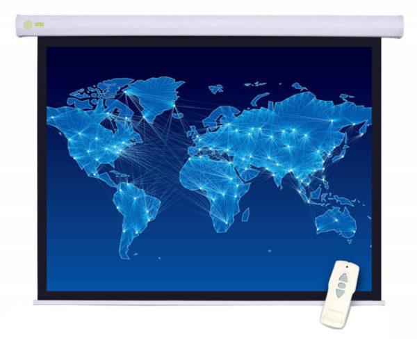 Проекционный экран CACTUS Motoscreen 1:1 [Motoscreen 150x150]