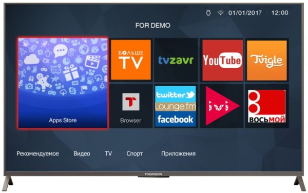 LCD телевизор Thomson T55D23SFS