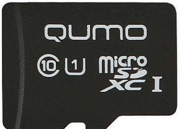 Карта памяти Qumo microSDXC Class 10 [microSDXC Class 10 64Gb]