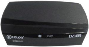 ТВ тюнер D-COLOR DC702HD