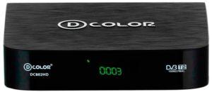ТВ тюнер D-COLOR DC802HD