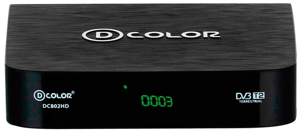 ТВ тюнер D-COLOR DC802HD