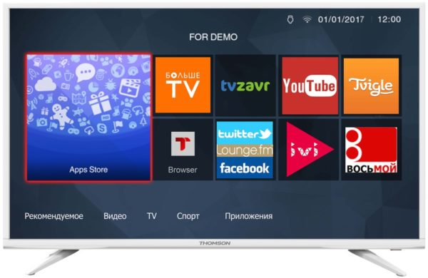 LCD телевизор Thomson T43FSL5031