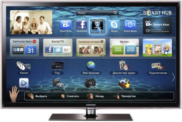 LCD телевизор Samsung UE-55D6100