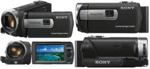 Видеокамера Sony DCR-PJ5E