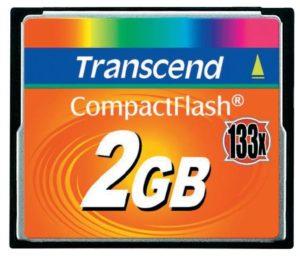 Карта памяти Transcend CompactFlash 133x [CompactFlash 133x 2Gb]