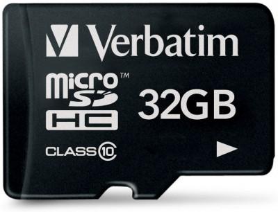 Карта памяти Verbatim microSDHC Class 10 [microSDHC Class 10 32Gb]