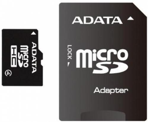 Карта памяти A-Data microSDHC Class 4 [microSDHC Class 4 4Gb]