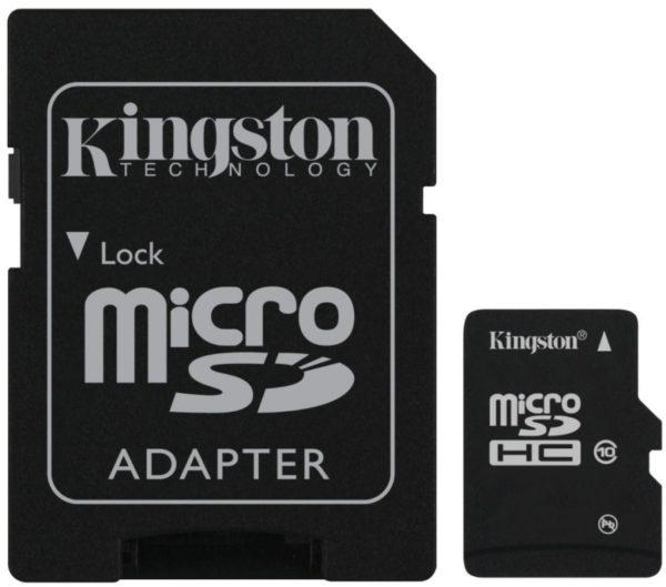 Карта памяти Kingston microSDHC Class 10 [microSDHC Class 10 32Gb]