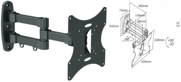 Подставка/крепление i-Tech LCD-53