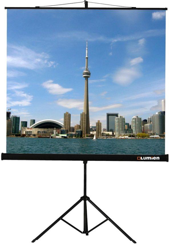 Проекционный экран Lumien Eco View 1:1 [Eco View 160x160]