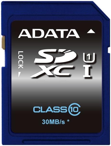 Карта памяти A-Data Premier SDXC UHS-I [Premier SDXC UHS-I 64Gb]