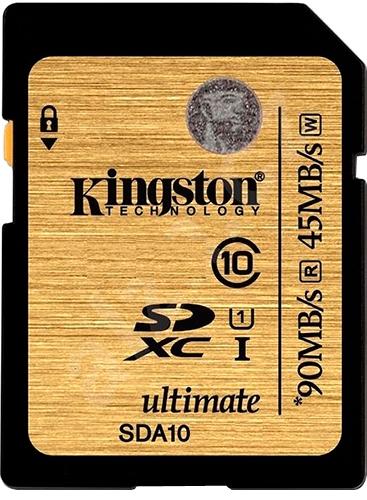 Карта памяти Kingston Ultimate SDXC UHS-I [Ultimate SDXC UHS-I 256Gb]