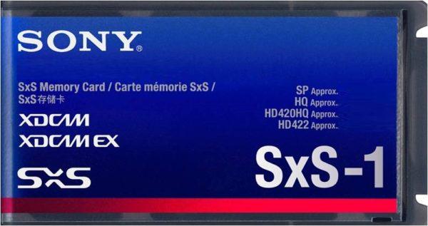 Карта памяти Sony SxS-1 [SxS-1 128Gb]