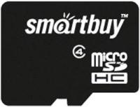 Карта памяти SmartBuy microSDHC Class 4 [microSDHC Class 4 4Gb]