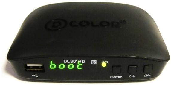 ТВ тюнер D-COLOR DC801HD