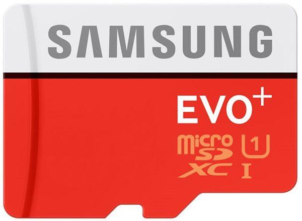 Карта памяти Samsung EVO Plus microSDXC UHS-I [EVO Plus microSDXC UHS-I 64Gb]