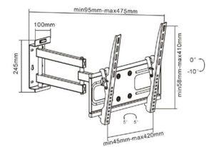 Подставка/крепление i-Tech PTRB-9ES