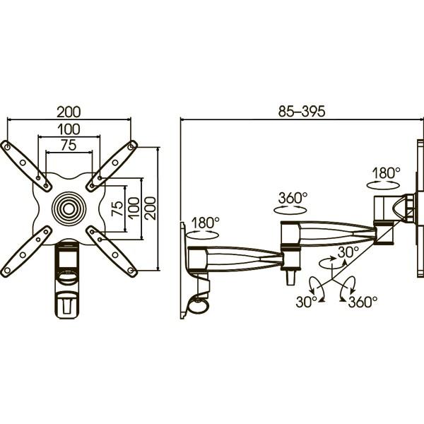 Подставка/крепление Kromax ASTRA-9