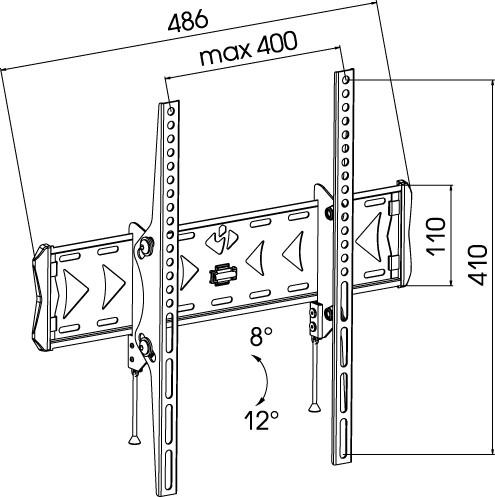 Подставка/крепление Kromax FLAT-4