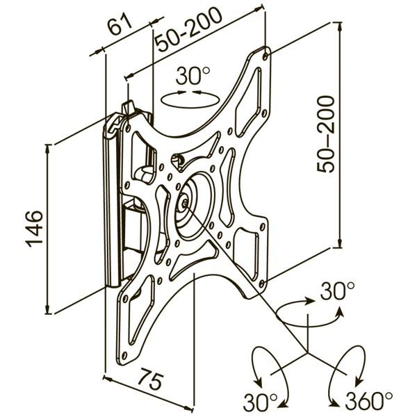 Подставка/крепление Kromax GALACTIC-7
