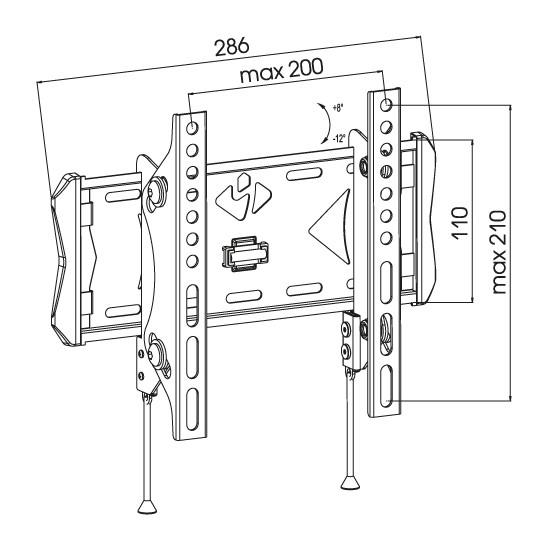 Подставка/крепление Kromax FLAT-6