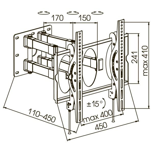 Подставка/крепление Kromax PIXIS-L