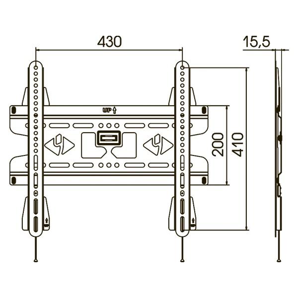 Подставка/крепление Kromax VEGA-50