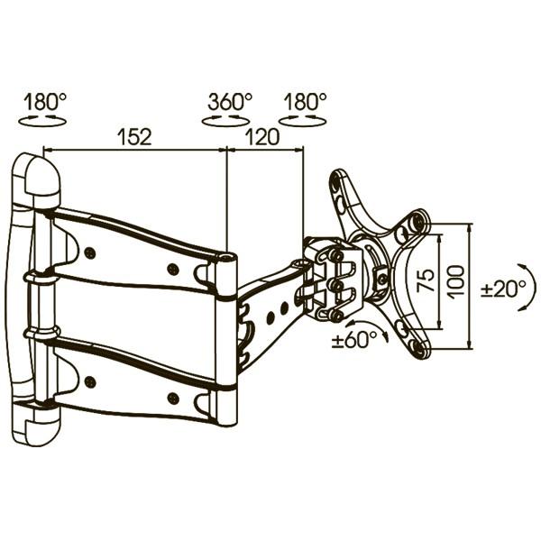 Подставка/крепление Kromax TECHNO-2
