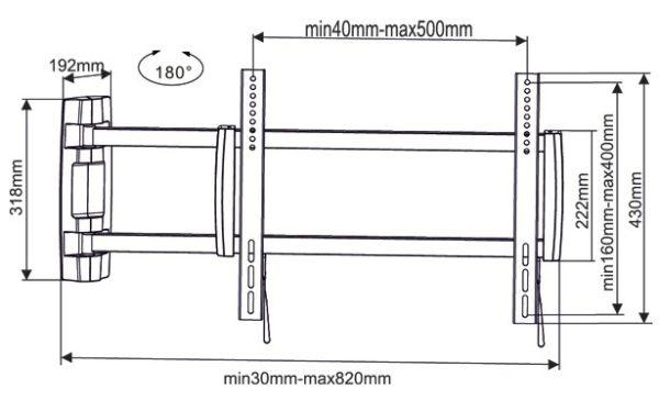 Подставка/крепление ARM MEDIA PT-19