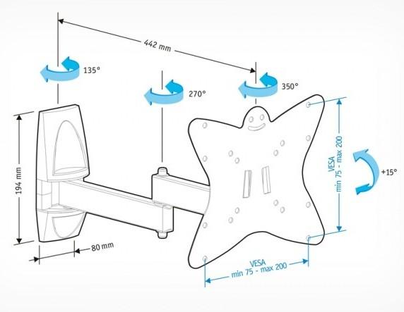 Подставка/крепление Holder LCDS-5038