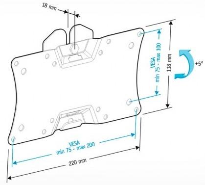 Подставка/крепление Holder LCDS-5060