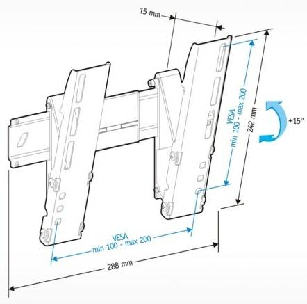 Подставка/крепление Holder LEDS-7012