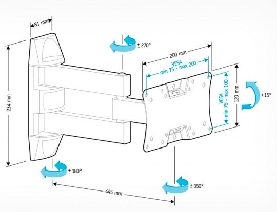 Подставка/крепление Holder LCDS-5065