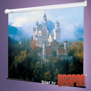 Проекционный экран Draper Star 1:1 [Star 152x152]