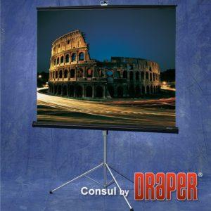 Проекционный экран Draper Consul 1:1 [Consul 127x127]