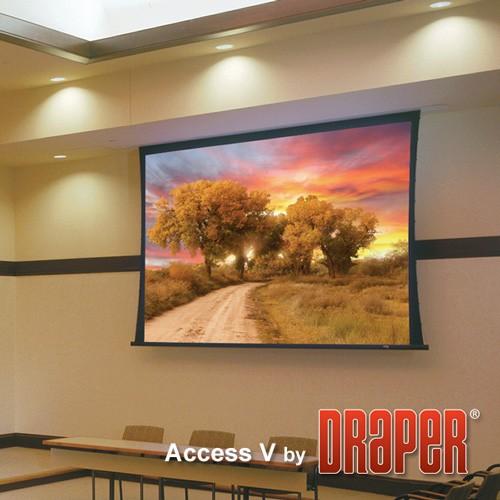 Проекционный экран Draper Access/Series V [Access/Series V 295x184]