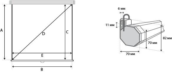 Проекционный экран Lumien Eco Picture 1:1 [Eco Picture 200x200]
