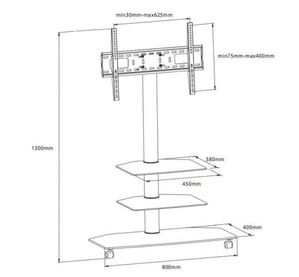 Подставка/крепление i-Tech T3001B