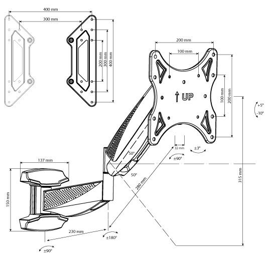 Подставка/крепление Tuarex OLIMP-8010
