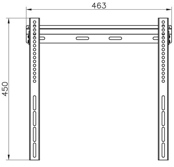 Подставка/крепление Vivanco WF 4035