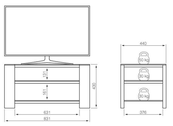 Подставка/крепление Holder TV-2783-V