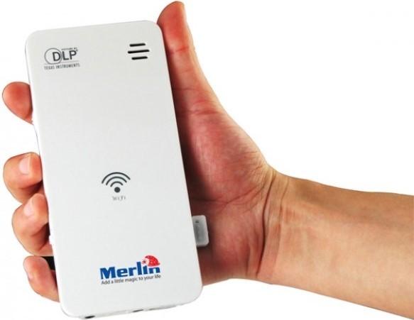 Проектор Merlin Pocket Projector Wi-Fi