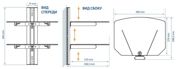 Подставка/крепление Kromax R-DUO