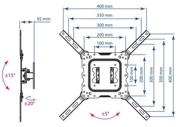 Подставка/крепление Kromax DIX-16
