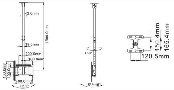 Подставка/крепление NB T560-15