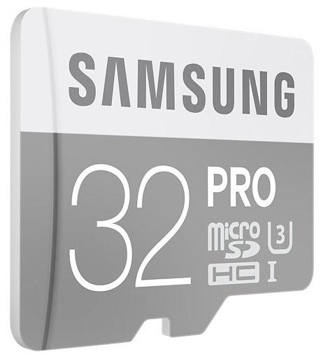 Карта памяти Samsung Pro microSDHC UHS-I U3 [Pro microSDHC UHS-I U3 16Gb]