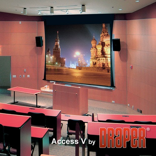 Проекционный экран Draper Access/Series V 4:3 [Access/Series V 264x198]