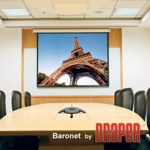 Проекционный экран Draper Baronet 1:1 [Baronet 178x178]