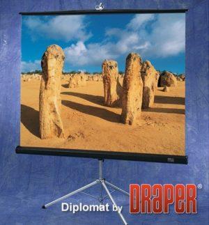 Проекционный экран Draper Diplomat 1:1 [Diplomat 152x152]